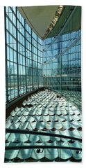 Beach Towel featuring the photograph Salt Lake City Library by Ely Arsha
