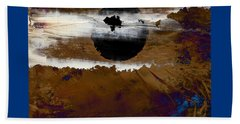 Samhain I. Winter Approaching Beach Towel