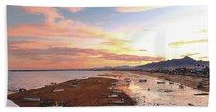 San Felipe Sunset 04 Beach Sheet