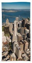 San Francisco Aloft Beach Towel