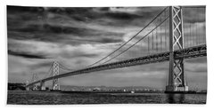 San Francisco - Oakland Bay Bridge Beach Towel