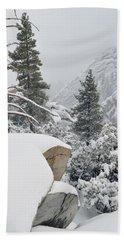 Beach Sheet featuring the photograph San Jacinto Winter Wilderness by Kyle Hanson