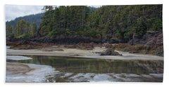 San Josef Bay Reflections Beach Towel