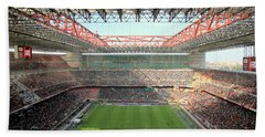 San Siro Stadium Beach Towel