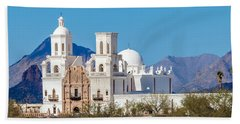 San Xavier Del Bac Mission Beach Towel