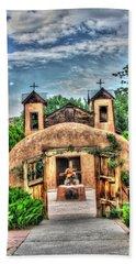 Santuario De Chimayo Beach Towel by Lanita Williams