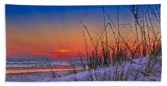 Sand And Sea Beach Towel