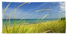 Sand Dunes At Beach Beach Towel