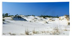 Sand Dunes In A Desert, St. George Beach Towel by Panoramic Images