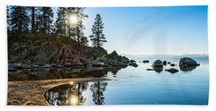 Sand Harbor Cove Beach Towel