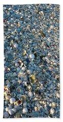 Beach Towel featuring the photograph Sand Key Shells by David Nicholls