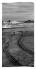 Sand Tracks Beach Towel