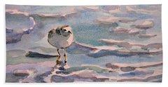 Sandpiper And Seafoam 3-8-15 Beach Towel