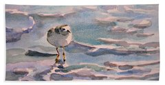 Sandpiper And Seafoam 3-8-15 Beach Towel