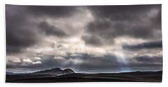 Beach Sheet featuring the photograph Sands Of Time by Gunnar Orn Arnason