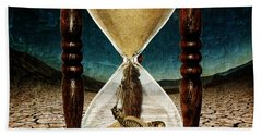 Sands Of Time ... Memento Mori  Beach Towel