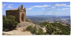 Sant Joan Chapel Spain Beach Towel
