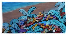 Santa Barbara Beach Beach Towel