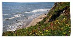 Santa Barbara Beach Beauty Beach Sheet