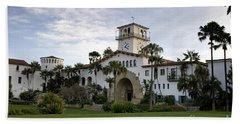 Beach Towel featuring the photograph Santa Barbara by David Millenheft
