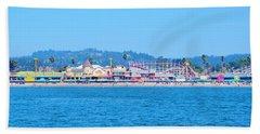 Santa Cruz Boardwalk  Beach Sheet