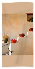 Santa Fe Christmas Beach Towel