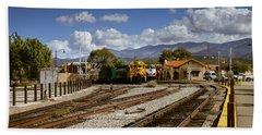 Santa Fe Rail Road Beach Sheet