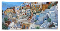 Mediterranean Sea Beach Towels
