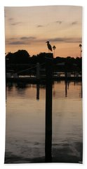 Beach Towel featuring the photograph Sarasota Sunset by Emmy Marie Vickers