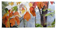 Sassafras Trees On The Ridge Beach Towel