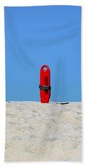Save Me Beach Towel by Joe Schofield
