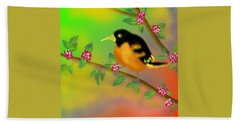 Beach Towel featuring the digital art Save My Beautiful World by Latha Gokuldas Panicker