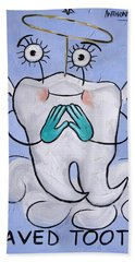 Saved Tooth Beach Towel