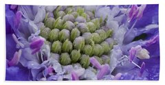 Scabiosa Beach Towel