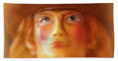 Scary Cowgirl Beach Towel by Lynn Sprowl