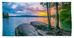 Scenery Around Lake Jocasse Gorge Beach Towel by Alex Grichenko