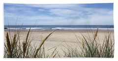 Scenic Oceanview Beach Towel by Athena Mckinzie