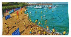 School Outing New Quay Wales Beach Towel