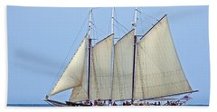 Schooner Alliance Beach Towel