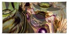 Beach Towel featuring the digital art Sci-fi Fury by Richard Thomas