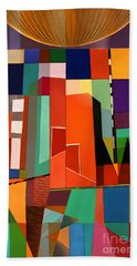 Beach Towel featuring the photograph Science Museum Fort Worth Tx by Elena Nosyreva