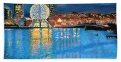 Science World Twilight Beach Towel