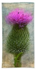 Scotch Thistle Beach Towel