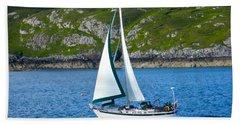 Scottish Sails Beach Towel