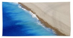Beach Towel featuring the photograph Sea And Sand by Wendy Wilton