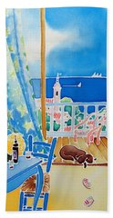 Sea Breeze Beach Towel