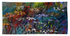 Sea Garden Beach Towel by John Williams