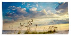Sea Oats Sunset Beach Towel