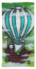 Sea Of Clouds Beach Towel