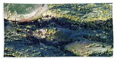 Beach Sheet featuring the photograph Sea Rocks by Robert Nickologianis